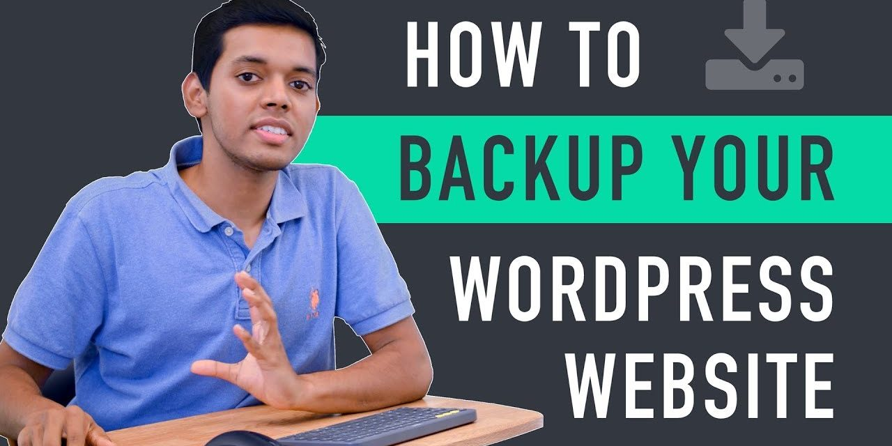 Backup your WordPress Blog easily?