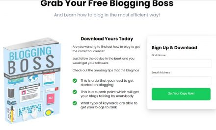 Blogging boss reboot