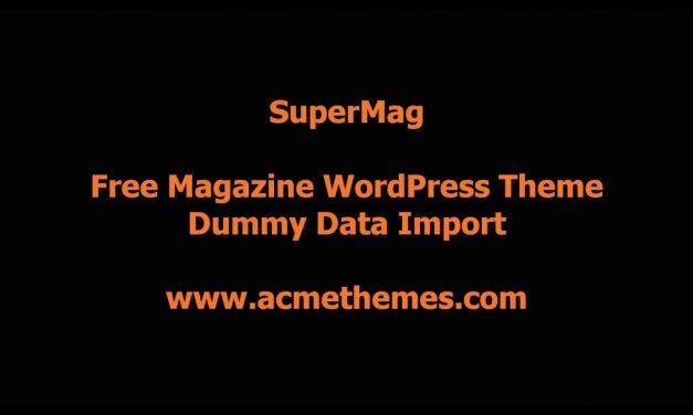 Acme Theme Review
