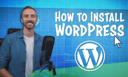 Installing A Blog ( WordPress )