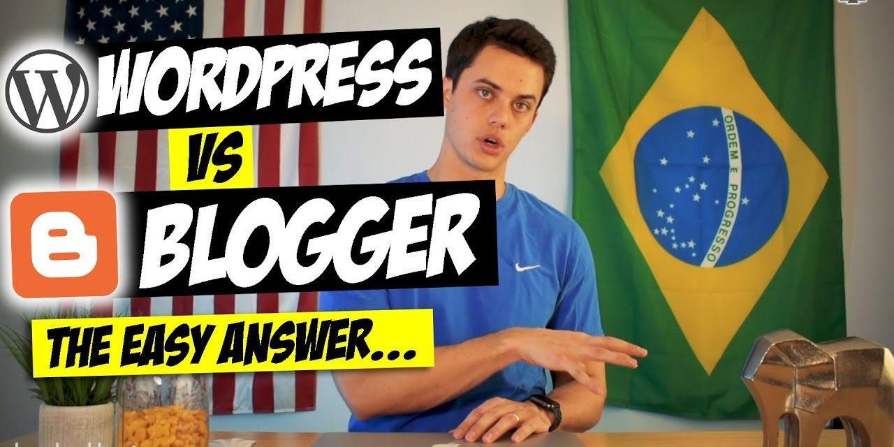Blogging Wars – WordPress Vs Blogger Part 1