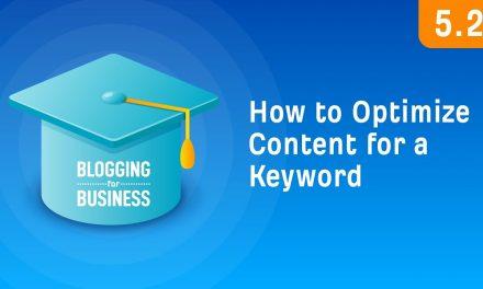 Improving your Targeted Keywords List