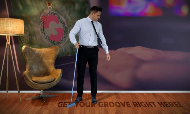 Groove on the floor